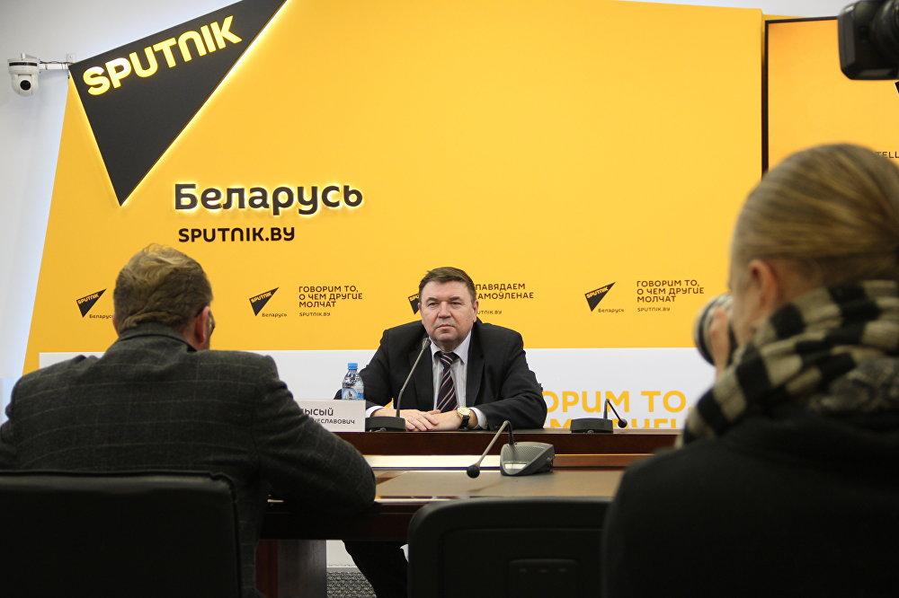 Глава официального Союза поляков (СПБ) Мечислав Лысый
