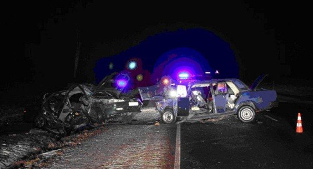 Гродненский район: в итоге столкновения Пежо и«Жигулей» умер человек, трое пострадали