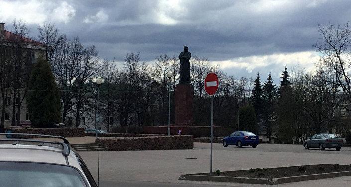 Площадь Франциска Скорины в Полоцке