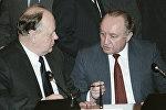 Станислав Шушкевич и Вячеслав Кебич