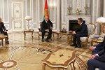 Встреча Александра Лукашенко с председателем Внешэкономбанк Сергеем Горьковым