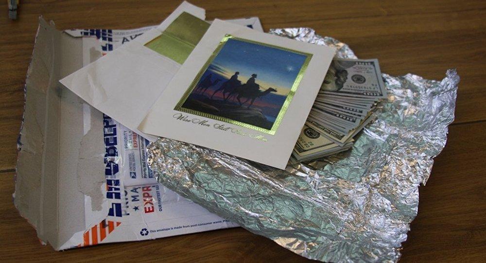 Пограничники вписьме изсоедененных штатов отыскали 5 тыс. долларов