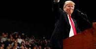 Дональ Трамп за сваёй Залатой малінай не звяртаўся