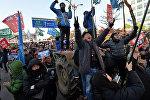 Жители Южной Кореи радуются импичменту президента страны