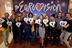 Жеребьевка Евровидения на БТ