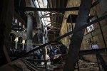 Последствия взрыва в соборном комплексе в Каире