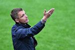Белорусский футбольный тренер Виктор Ганчаренко