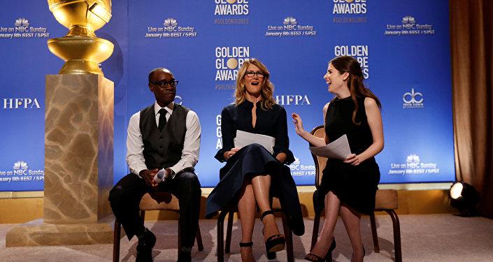 Оглашение номинантов на премию Золотой глобус в Лос-Анджелесе