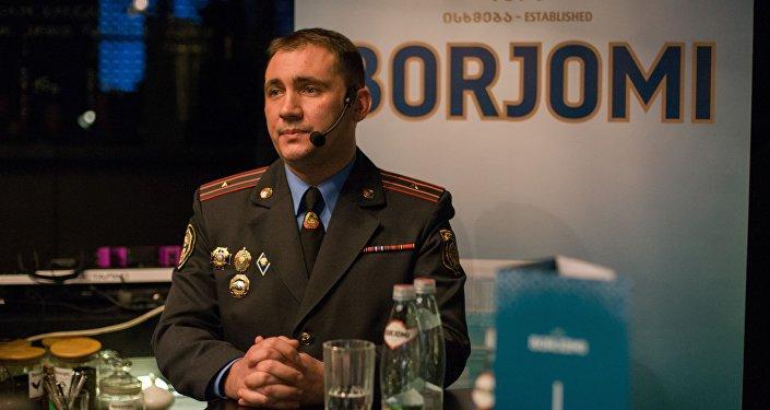 Начальник отдела агитации и пропаганды УГАИ ГУВД Мингорисполкома Сергей Зараник