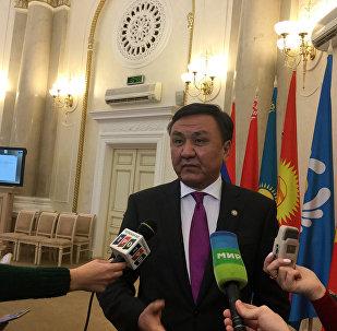 Постоянный полномочный представитель Кыргызстана в уставных органах СНГ, чрезвычайный и полномочный посол в Беларуси Кубанычбек Омуралиев
