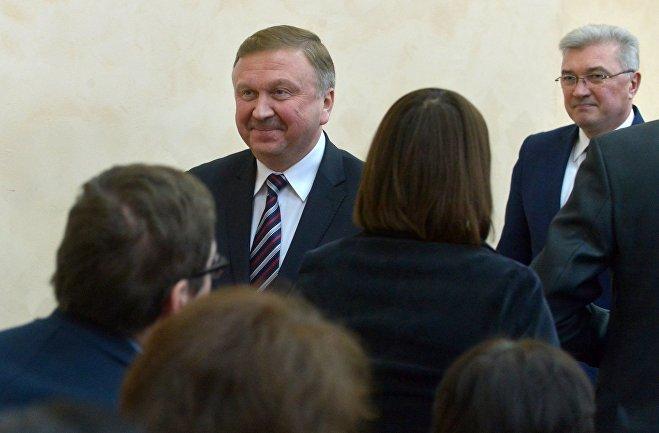 Премьер-министр Беларуси Андрей Кобяков представил нового министра труда и социальной защиты Валерия Малашко