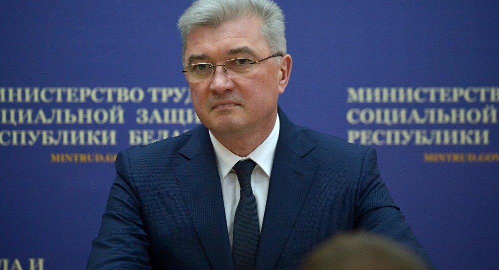 Министр здравоохранения Беларуси Валерий Малашко