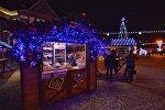 Открылась ярмарка на Октябрьской площади в Минске
