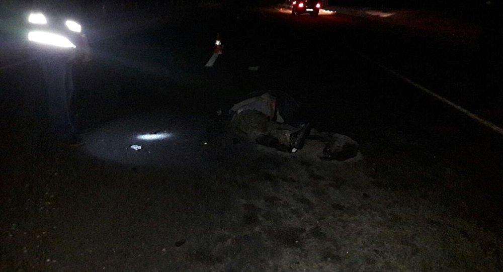 ВМинском районе шофёр насмерть сбил 77-летнего пешехода