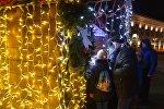 Новогодняя ярмарка в Минске