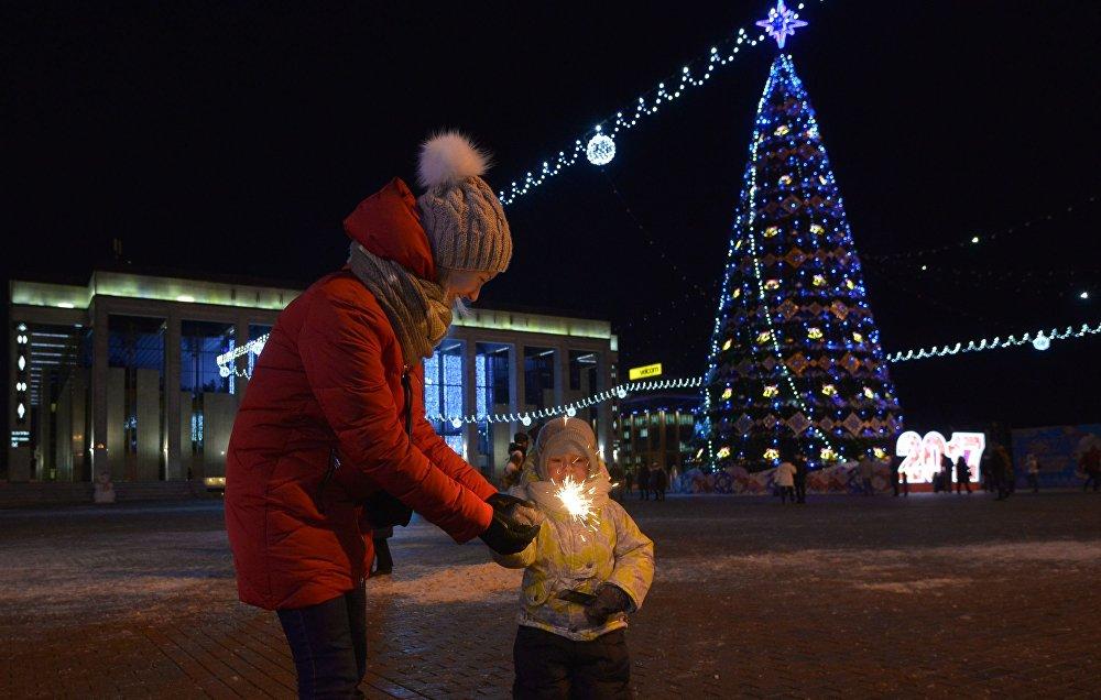 Новы год у Мінску