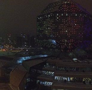 Видеофакт: предпраздничный Минск с высоты