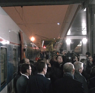 Прибытие Стрижа: новый состав Москва - Берлин в пути
