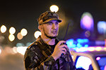 Сотрудник МВД Чеченской Республики, архивное фото