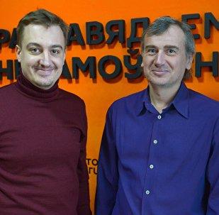 Андрэй Гусараў і Аляксандр Старычэнка