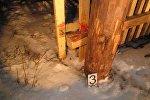 Место гибели жителя Чечерского района