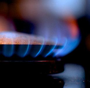 Огонь газовой горелки
