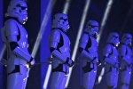 Штурмовики на презентации новой ленты Звездных войн