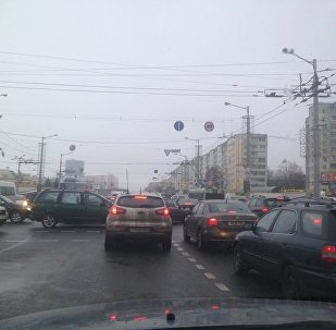 Затор у Мінску
