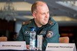 Пресс-секретарь МЧС Беларуси Виталий Новицкий