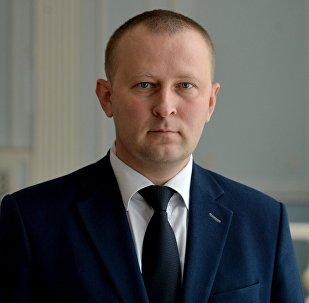 Официальный представитель Комитета государственной безопасности Дмитрий Побяржин