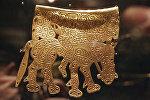 Золотое украшение скифов на выставке в ГИМ