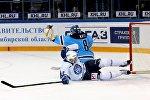 Игровой момент матча Динамо-Минск - Сибирь
