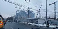 Першыя кадры з месца выбуху ля метро Каломенская