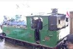 Дым истории: старинный паровоз снова выехал из ворот Дамаска