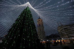 Главная елка в Вильнюсе
