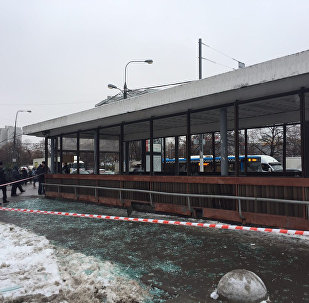 Выбух газавага балона ў пераходзе каля станцыі метро Каломенская у Маскве