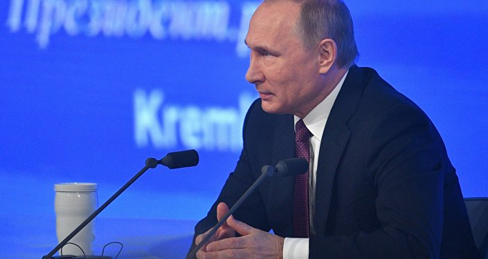 Смотрите пресс-конференцию В. Путина впрямом эфире наmisanec.ru