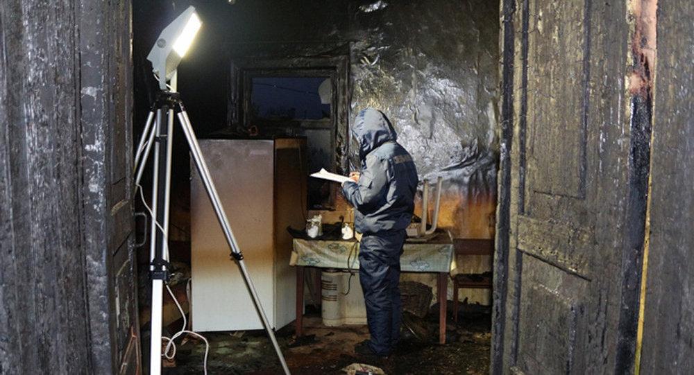 ВКормянском районе сельчанин молотком избил супругу иподжег собственный дом