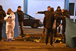 Итальянская полиция Милана оцепила площадь после перестрелки между полицией и подозреваемым в теракте в Берлине