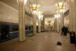 Выбух у мінскім метро
