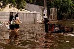 Наводнение в Индонезии, архивное фото
