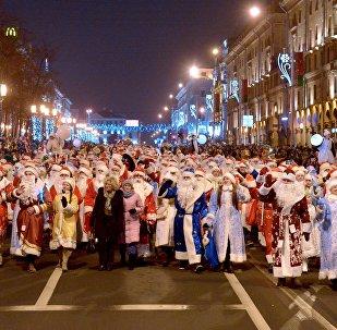 Шествие Дедов Морозов