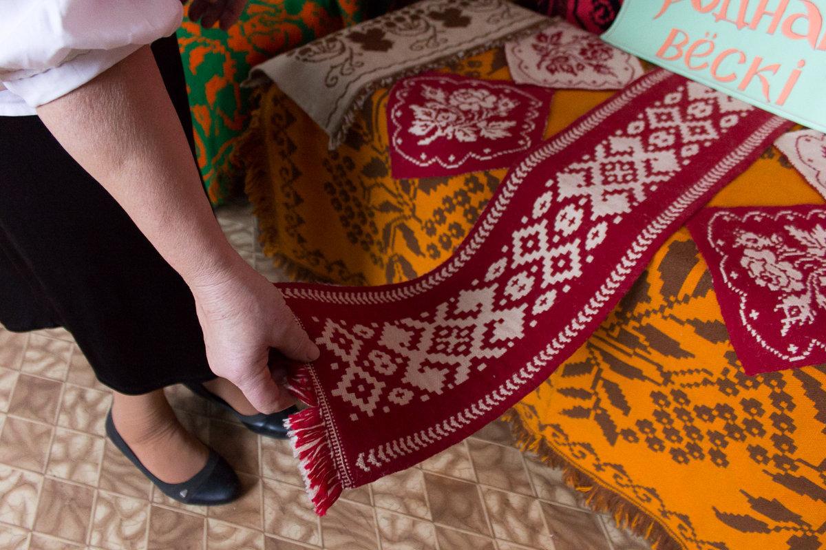 За уникальными белорусскими двухслойными дыванами приезжают ценители со всей Европы