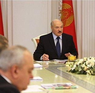 Совещание президента Беларуси Александра Лукашенко с представителями власти