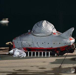 Батискаф, предназначенный для работ по поиску самолета Ту-154