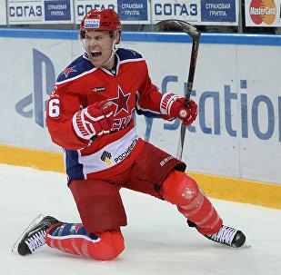 Игрок ЦСКА Джефф Плэтт, архивное фото