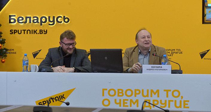 Видеомост в МПЦ Sputnik об итогах избирательных кампаний в Грузии, Молдове и Беларуси
