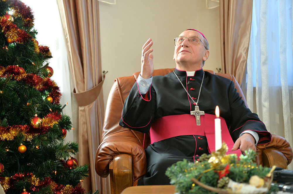 Кондрусевич поздравил с Рождеством