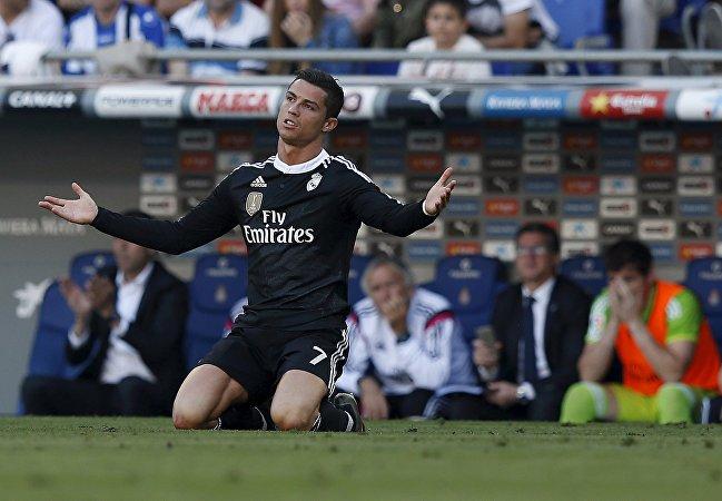 Игрок мадридского Реала Криштиану Роналду