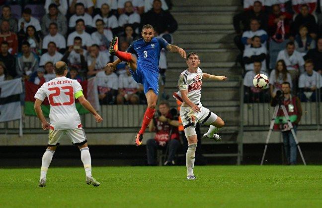 Матч по футболу Беларусь — Франция